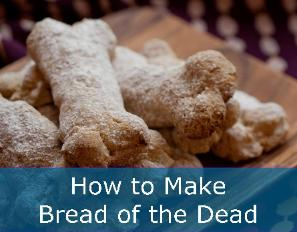 How to make bread of the dead