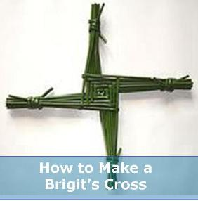 how to make a brigit cross