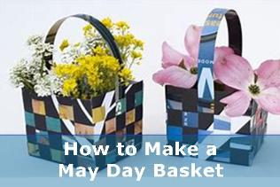 how to make a may day basket