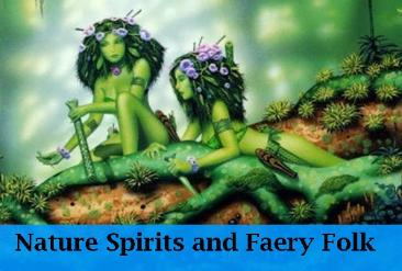 Nature spirits and faery folk