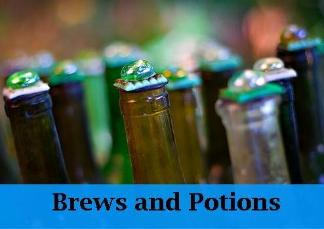 How to make diy brews and potions