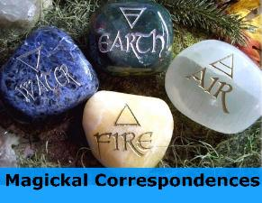 What are magickal correspondences